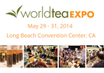 World Tea Expo 2014 - Banner Small