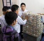 Myanmar hopes foreign banks will help modernize its financial sector.