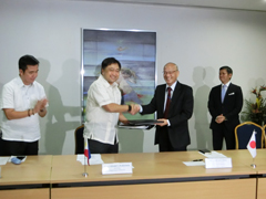 Signing Ceremony of Japanese ODA Loan Agreement with the Philippines