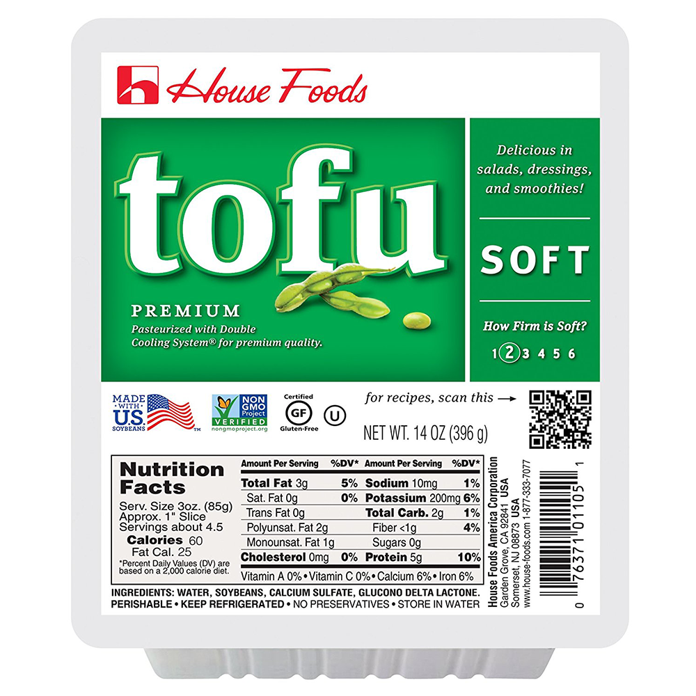 House Foods, Premium Tofu, Soft, 14 oz