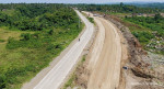 A view of the four-lane bypass road stretching from Daang Maharlika Bunawan section up to the Milan (Buhangin) section of the Carlos P. Garcia Highway in Davao City. The road project is one of the thirteen (13) Bypass Road projects being implemented by DPWH 11 in the city for 2017. Facebook/@dpwh11
