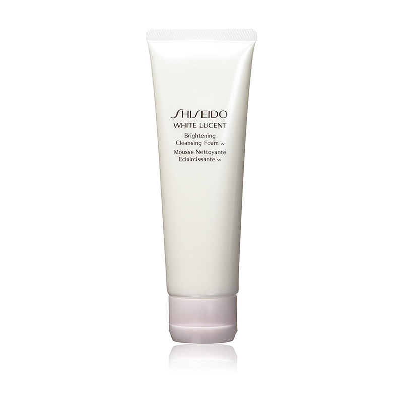 Shiseido White Lucent Brightening Cleansing Foam for Unisex, 4.7 ounces
