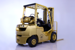 50th Anniversary Gold Forklifts