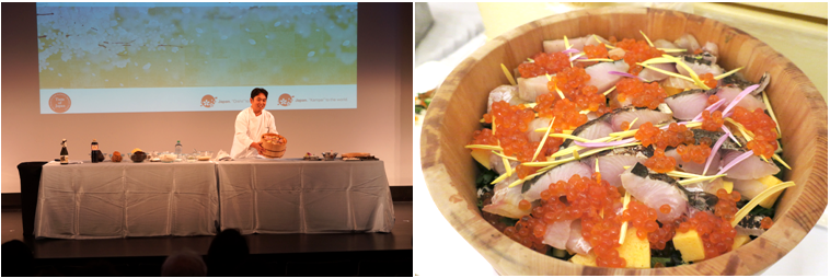 TASTE OF JAPAN in New York - Cooking demonstration of Japanese cuisine