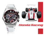 Casio Watch - EDIFICE Collaboration Mode Honda Racing